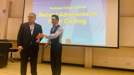Distinguished Lecture by Prof. Erdal ARIKAN on Recent Advances in Polar Coding