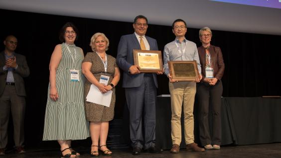 Prof. Khaled BEN LETAIEF, Prof. Jun ZHANG and our alumnus Yuyi MAO Wins The 2019 IEEE Communications Society & Information Theory Society Joint Paper Award